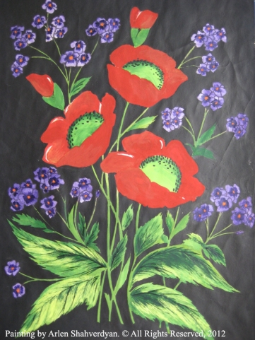 Painted by Arlen Shahverdyan. © All Rights Reserved, 2012. Painting 02