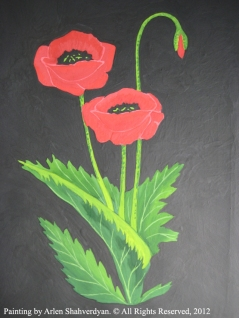 Painted by Arlen Shahverdyan. © All Rights Reserved, 2012. Painting 03