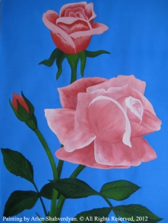 Painted by Arlen Shahverdyan. © All Rights Reserved, 2012. Painting 04