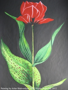 Painted by Arlen Shahverdyan. © All Rights Reserved, 2012. Painting 09