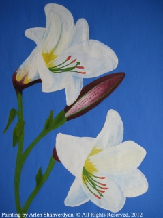 Painted by Arlen Shahverdyan. © All Rights Reserved, 2012. Painting 10