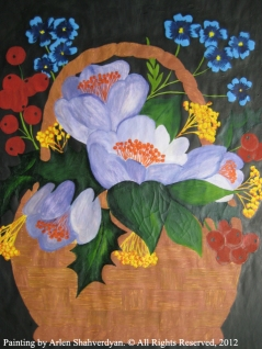 Painted by Arlen Shahverdyan. © All Rights Reserved, 2012. Painting 12