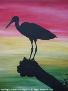 Painted by Arlen Shahverdyan. © All Rights Reserved, 2012. Painting 24