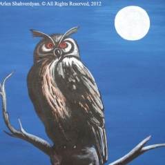 Painted by Arlen Shahverdyan. © All Rights Reserved, 2012. Painting 27