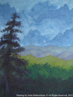 Painted by Arlen Shahverdyan. © All Rights Reserved, 2012. Painting 30