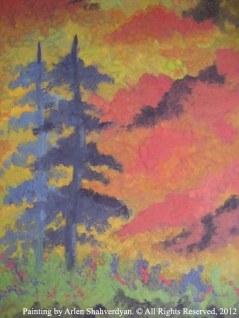 Painted by Arlen Shahverdyan. © All Rights Reserved, 2012. Painting 31