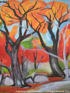 Painted by Arlen Shahverdyan. © All Rights Reserved, 2012. Painting 33