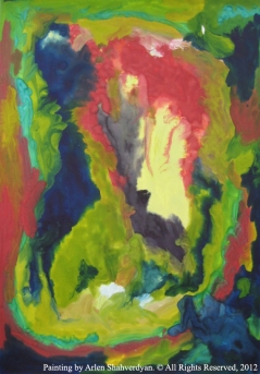 Painted by Arlen Shahverdyan. © All Rights Reserved, 2012. Painting 44