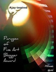 Paragon of Fine Art Blogger Award