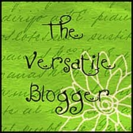 The Versatile Blogger Award