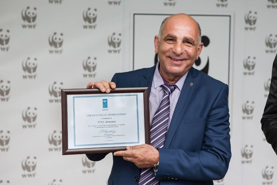 Karen Manvelyan WWF Armenia