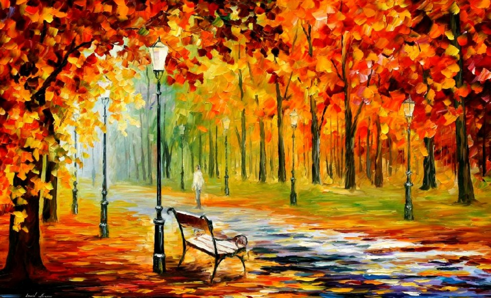 Leonid Afremov - Autumn 01