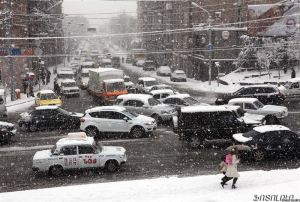 yerevan snow