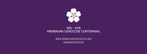 Armenian Genocide Logo ENG