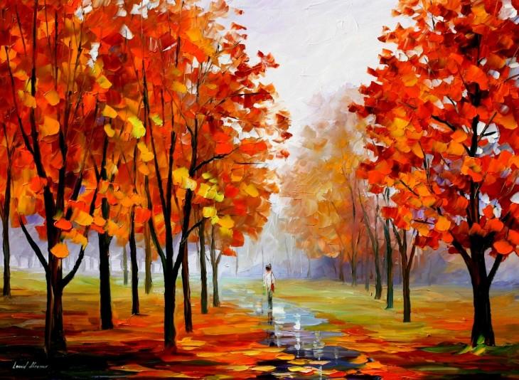 Leonid Afremov_Autumn_02