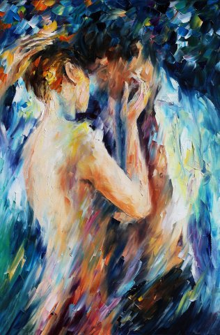 Leonid Afremov - Beauty of Love 05