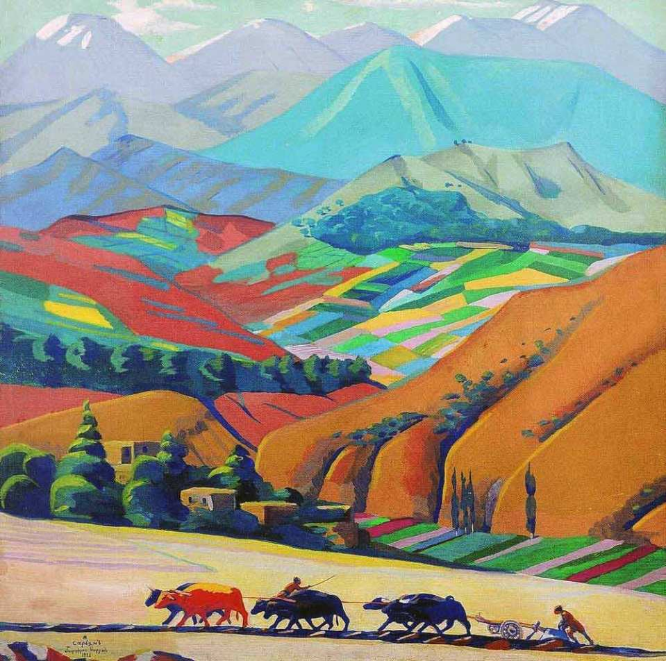 Martiros Sarian, Mountains