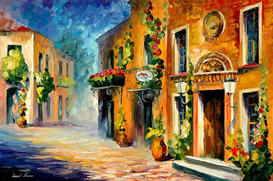 italian_noon_by_leonid_afremov