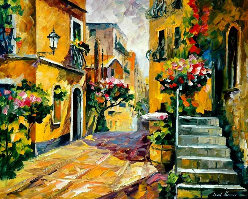 leonid-afremov_siciliy